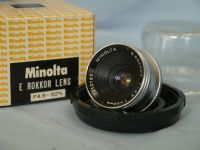 *  50mm * Minolta E Rokkor 50MM 4.5 Enlarger Lens Cased Boxed -MINT- £14.99
